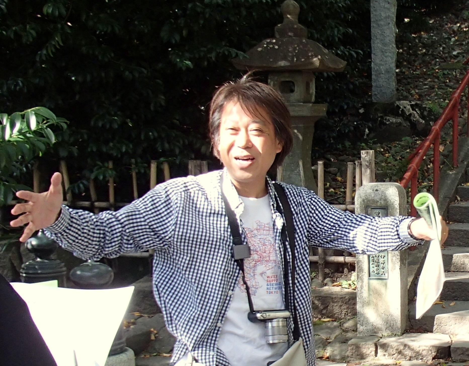 【仙台ふららん】スリバチ会長とめぐる四ツ谷用水〜ブラタモリロケ地を訪ねる