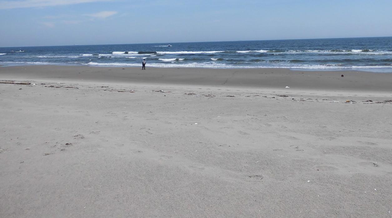 【仙台ふららん】キュッキュッキュッと砂が鳴る!荒浜で鳴り砂の音を聞こう