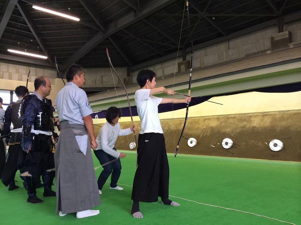 今に伝わる伊達家の伝統弓術を体験!